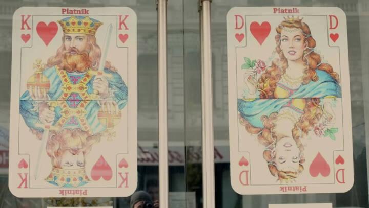 König Dame Karten
