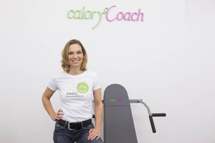 calory coach smeil -  Institutsleiterin Pia Eichwalder im neuen Studio in 1090 Wien, http://www.calorycoach.at/institute/Wien