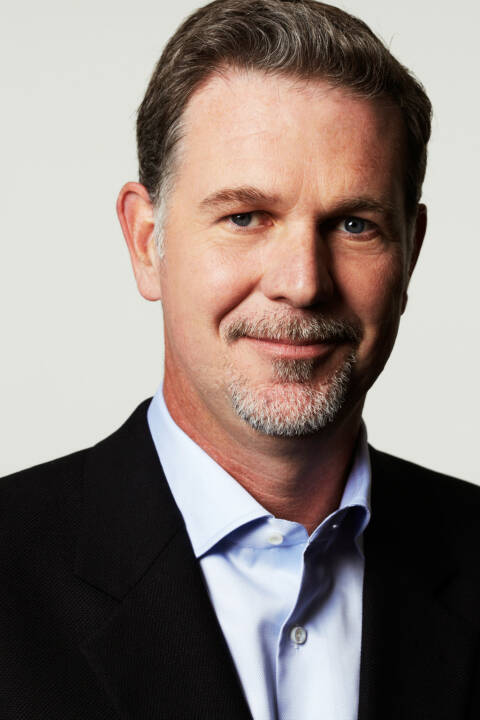 Reed Hastings, Co-Founder and CEO Netflix Inc.