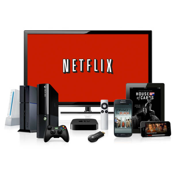 Streaming devices, Netflix Inc., © Netflix Inc. (Homepage) (01.04.2014)