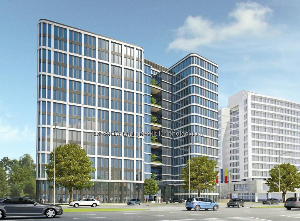 Immofinanz: Anfang Dezember startete das erste Office-Eigendevelopment in Warschau: Nimbus (15.12.2012)