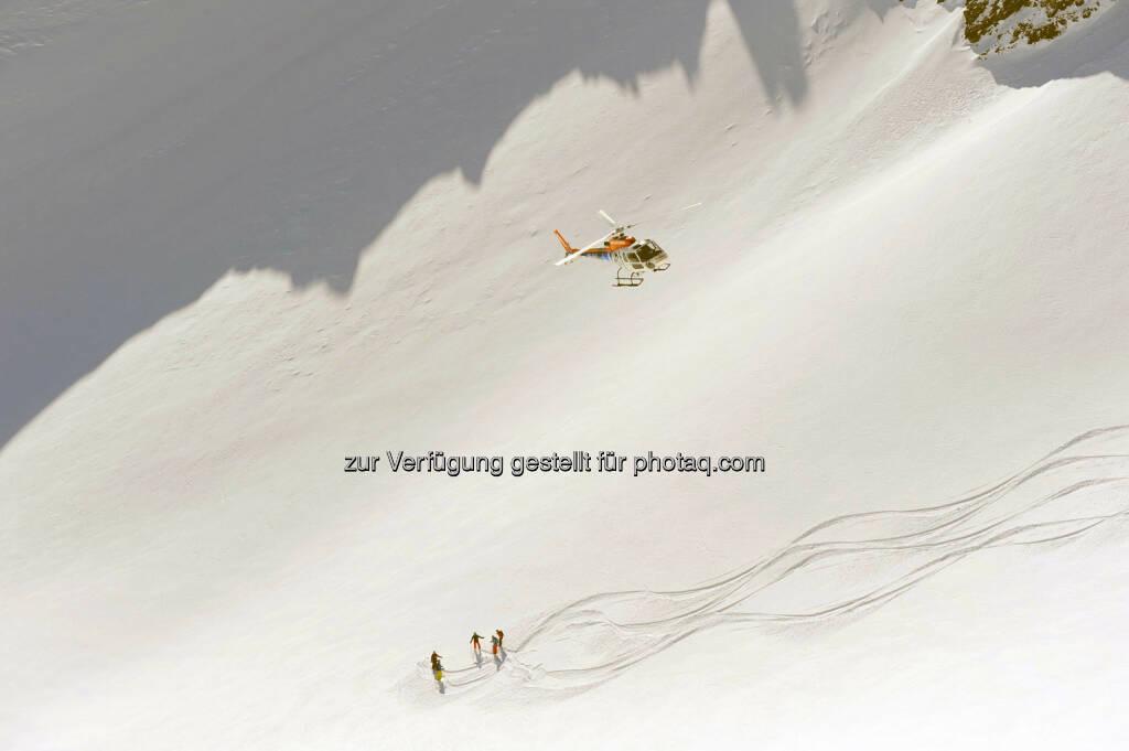 Lech Zürs am Arlberg, Heliskiing (Bild: Sepp Mallaun LZTG), ©   (03.04.2014)