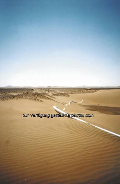 Wienerberger: Pipelife zieht Großauftrag für Wasserpipeline an Land, die Soluforce Pipe (c) Pipelife International GmbH (15.12.2012)