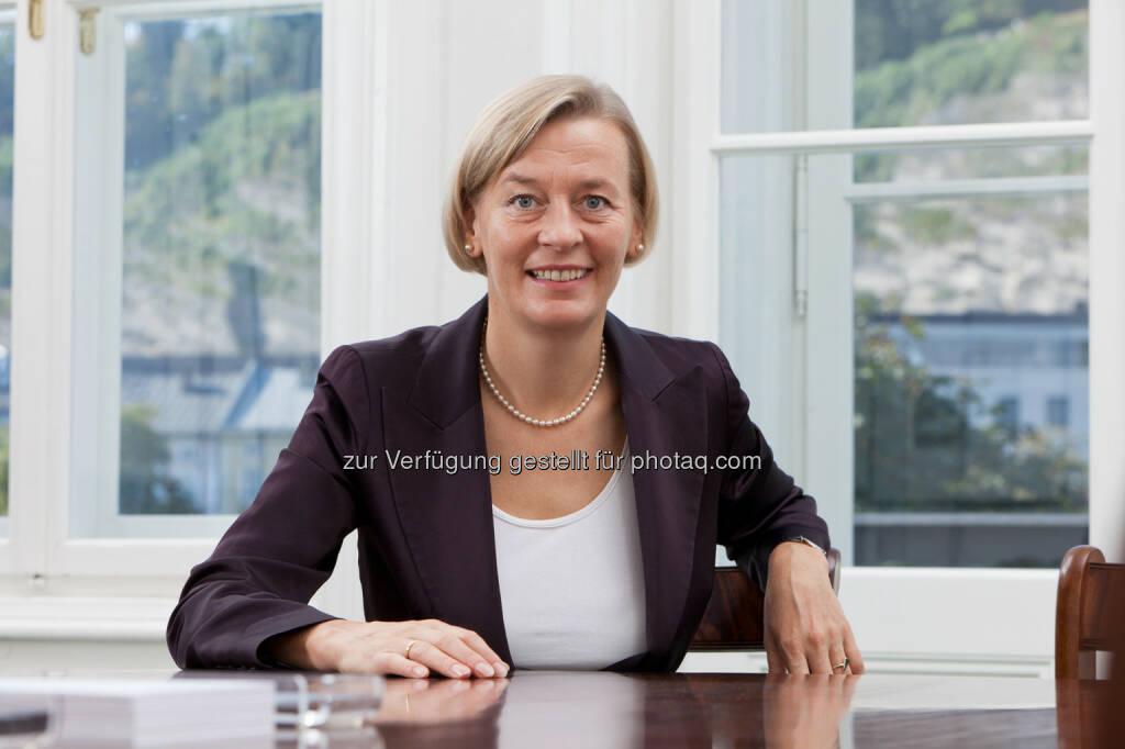 Veronika Sturm-Haigermoser, Geschäftsführende Gesellschafterin der Spängler M&A GmbH, referierte in Linz zum Thema Preisfindung bei M&A Transaktionen (Bild: Spängler) (04.04.2014)
