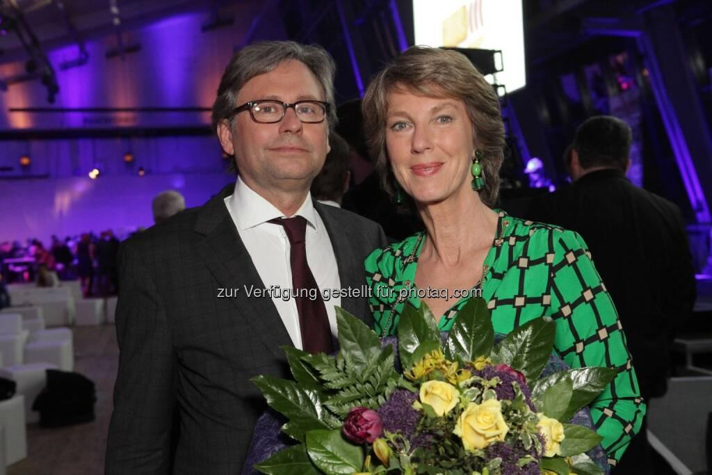 ORF-Generaldirektor Alexander Wrabetz, Barbara Rett, © ORF/Pichlkostner (04.04.2014)