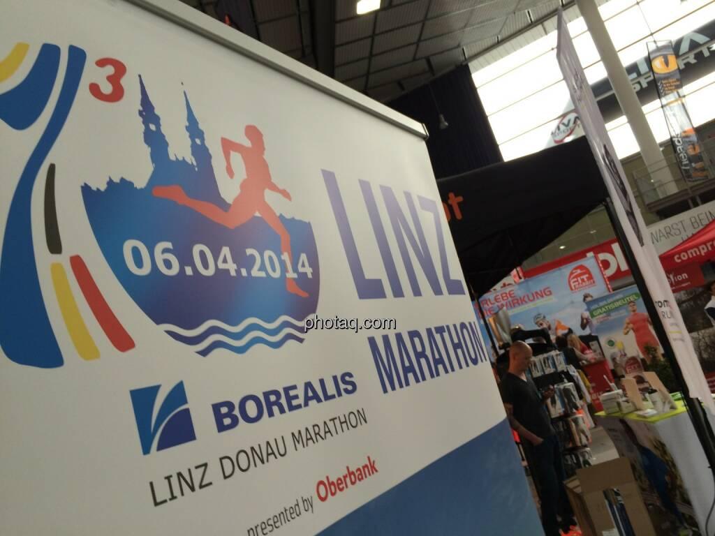 Borealis Linz Marathon, © Martina Draper (06.04.2014)
