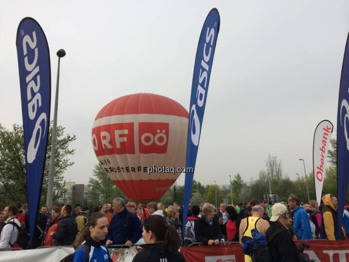 Borealis Linz Marathon, ORF OÖ Ballon