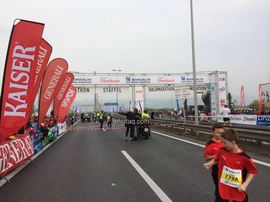 Borealis Linz Marathon, Startbereich, © Martina Draper (06.04.2014)