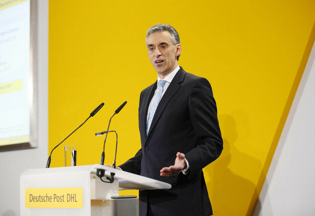 Frank Appel, CEO Deutsche Post AG, © Deutsche Post (Homepage) (06.04.2014)