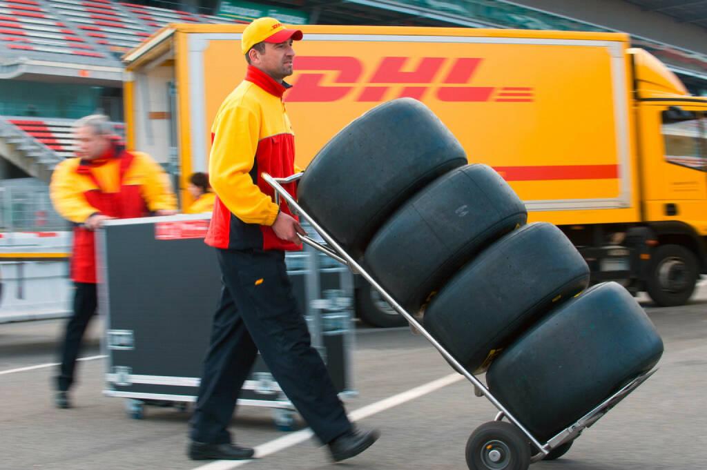 DHL Logistikpartner - Formula 1, © Deutsche Post (Homepage) (06.04.2014)