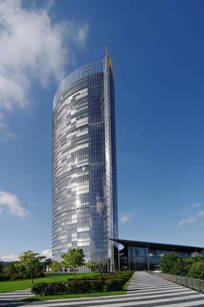 Konzernzentrale - Post Tower, Deutsche Post AG, © Deutsche Post (Homepage) (06.04.2014)