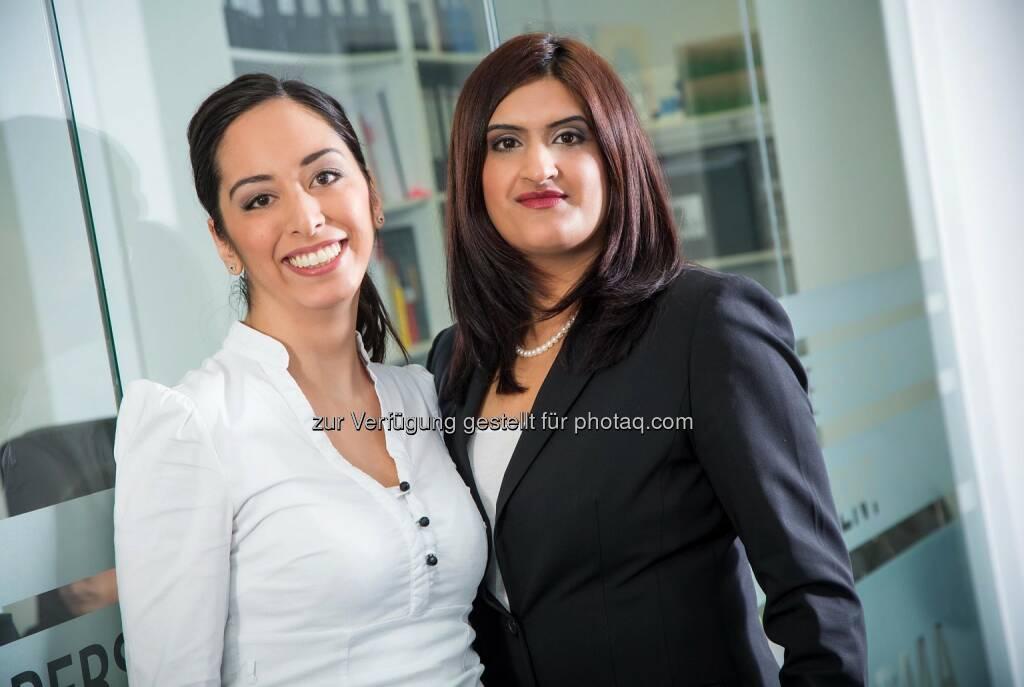 Sheila Kochhar und Julia Boczek, neue Teamleaderinnen bei APC, © Aussendung (07.04.2014)