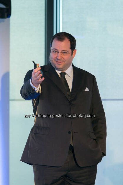 Daniel Riedl, CEO Buwog, siehe auch: http://blog.immofinanz.com/de/2014/04/09/immofinanz-infos-rund-um-buwog-abspaltung/ , © Martina Draper für Immofinanz (07.04.2014)