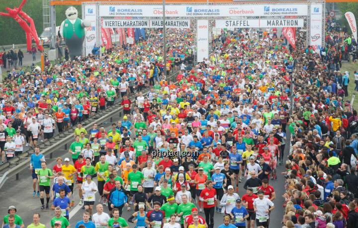 Start Borealis Linz Marathon, Fotograf: Klaus Mitterhauser