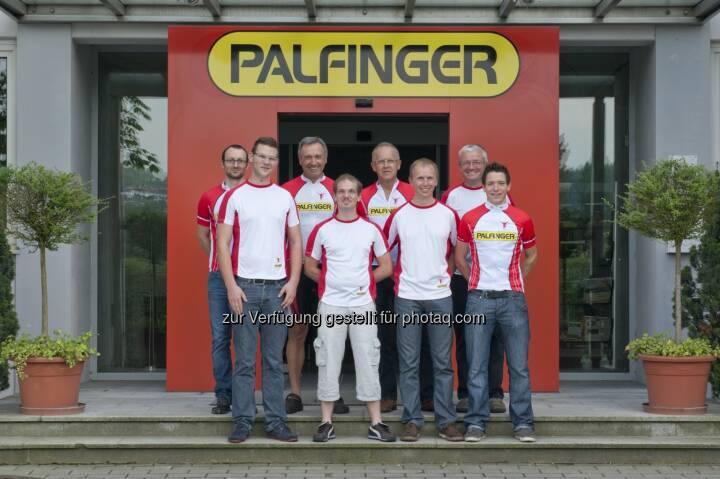 PALfit: Bilder von gesunden Palfinger-Mitarbeitern