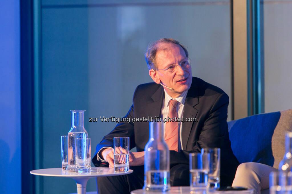 Clemens Hellsberg, Vorstand Wiener Philharmoniker, © Martina Draper für Immofinanz (09.04.2014)