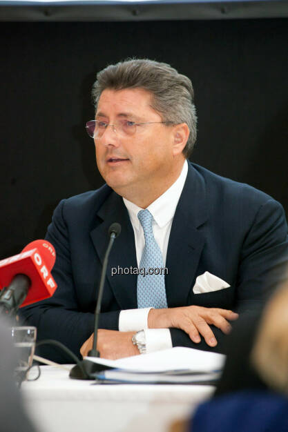 Karl-Heinz Strauss, © Michaela Mejta für finanzmarktfoto.at (09.04.2014)
