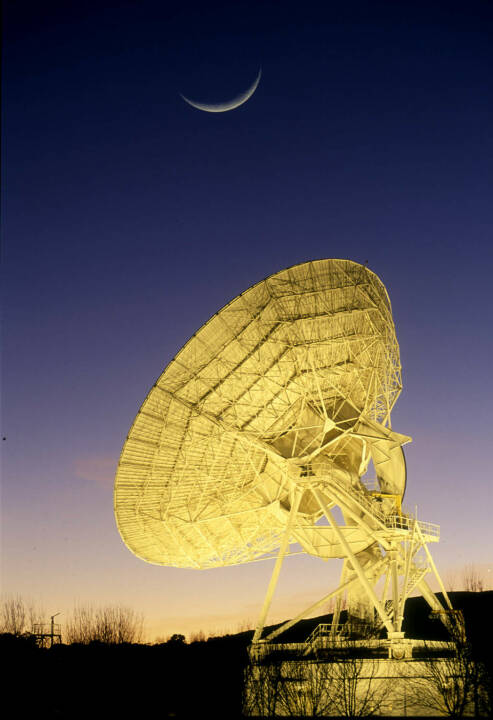 Satellite stations, Antennas, Telefonica