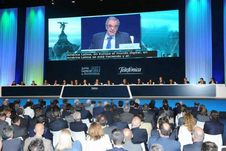 Telefónica's General Shareholders' 2012