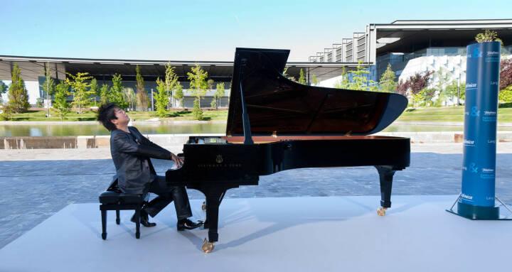 Lang Lang (Pianist), Markenbotschafter für Telefonica
