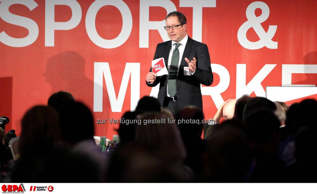 Geschaeftsfuehrer Hans-Willy Brockes (ESB Europaeischen Sponsoring-Boerse). (Foto: GEPA pictures/ Christopher Kelemen)  (10.04.2014)