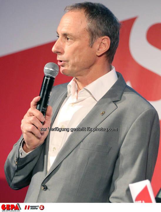 Geschaeftsfuehrer Anton Schutti (Sporthilfe). (Foto: GEPA pictures/ Christopher Kelemen)