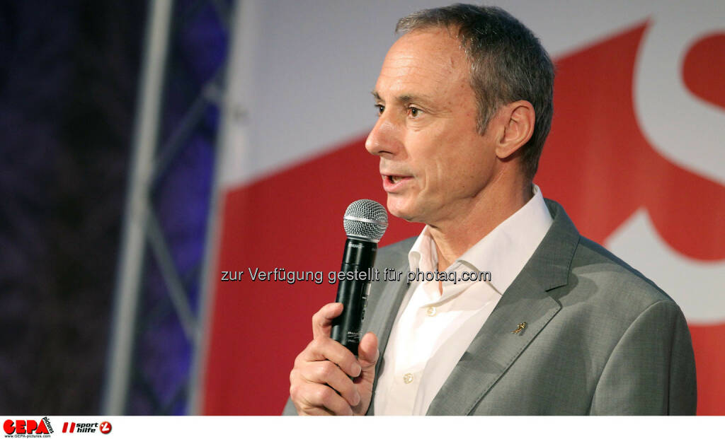 Geschaeftsfuehrer Anton Schutti (Sporthilfe). (Foto: GEPA pictures/ Christopher Kelemen)  (10.04.2014)