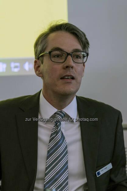 Heiko Geiger (Vontobel) während seines Vortrages (Bild: Messe Stuttgart) (11.04.2014)