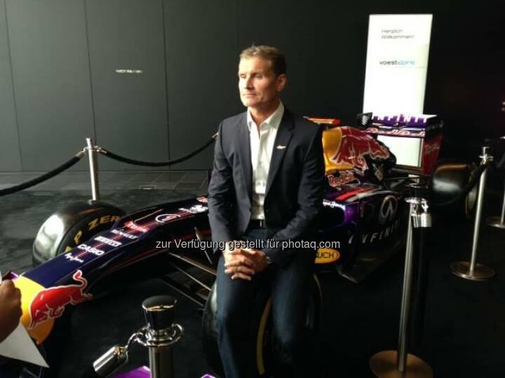 David Coulthard (Bild: voestalpine)