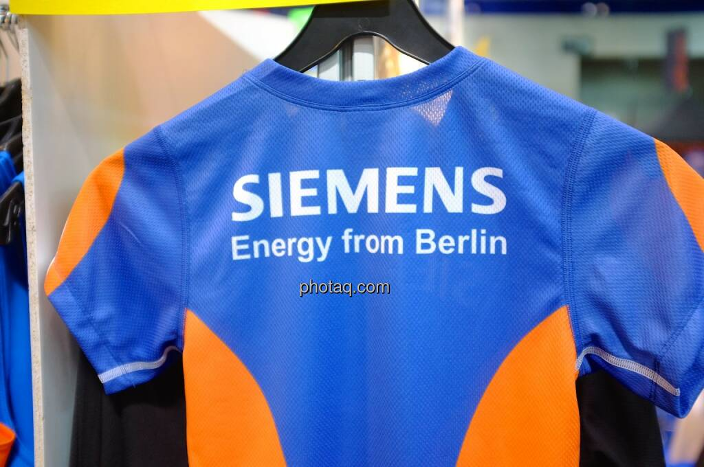 Laufshirt, Siemens, Energy from Berlin, © Josef Chladek finanzmarktfoto.at (11.04.2014)