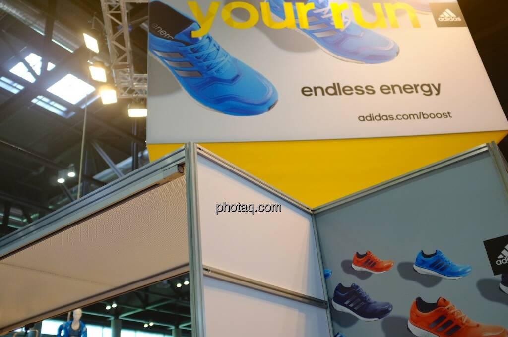 Your run, endless energy, adidas, © Josef Chladek finanzmarktfoto.at (11.04.2014)