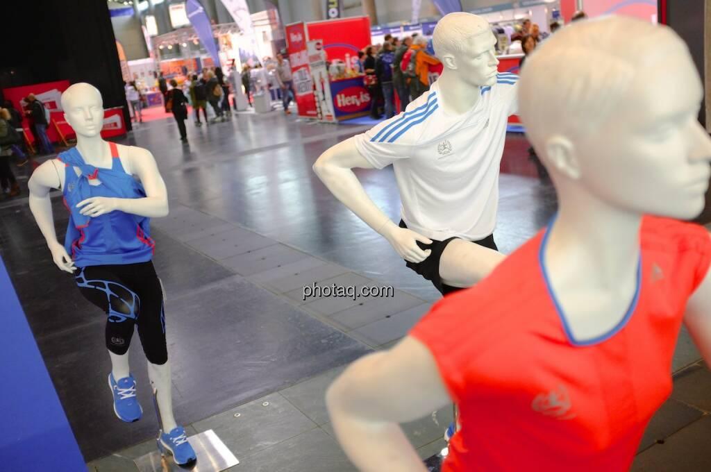 Adidas, Laufen, Puppen, © Josef Chladek finanzmarktfoto.at (11.04.2014)