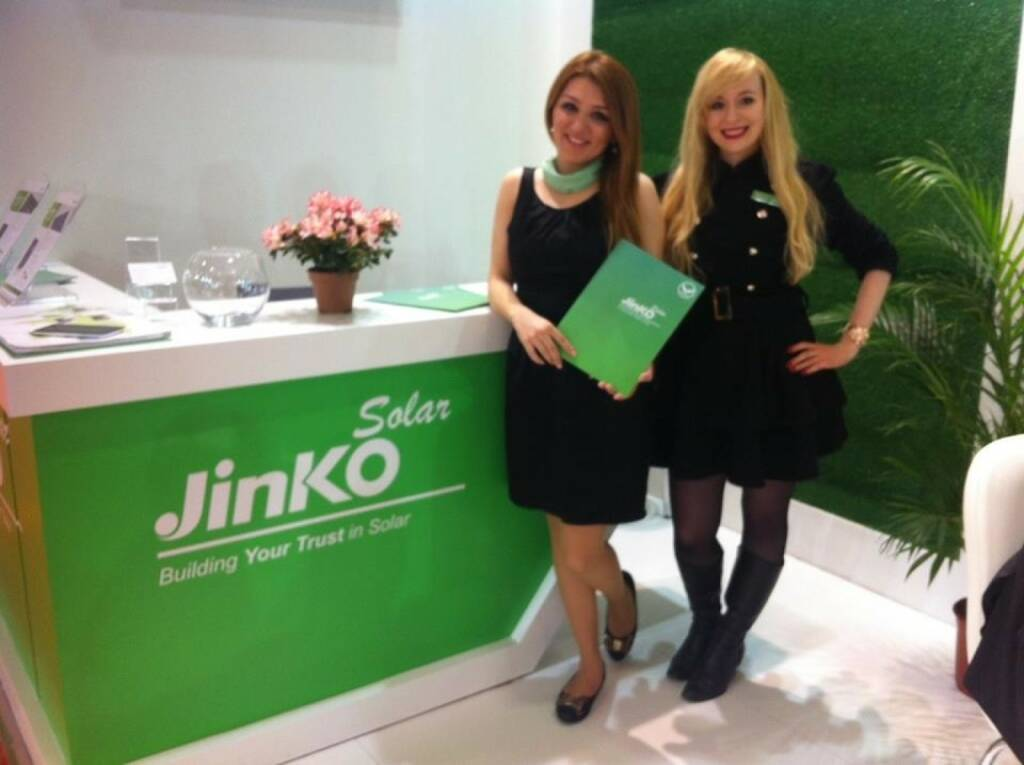 Jinko Solar -- We are looking forward to meeting you at Solarex in Istanbul at booth D04!	 (13.04.2014)