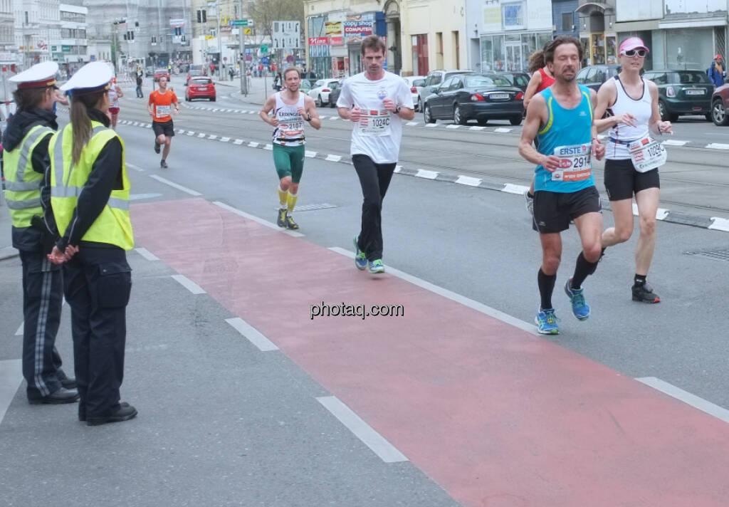 Vienna City Marathon Polizei (13.04.2014)