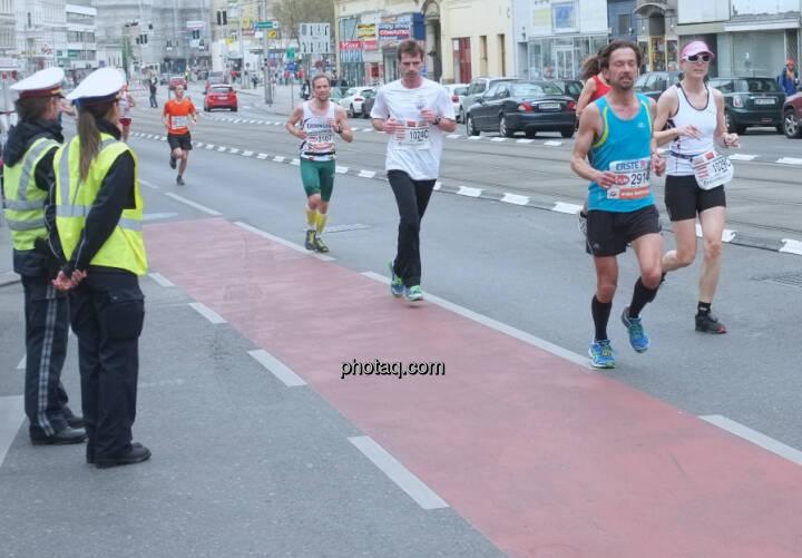 Vienna City Marathon Polizei