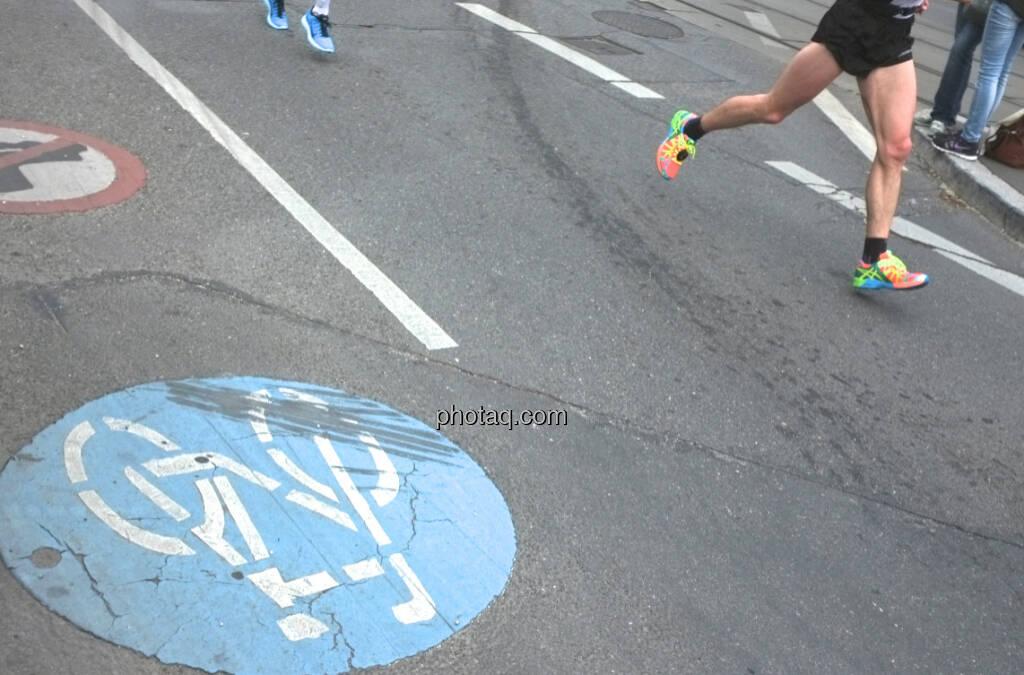 Radfahren vs. Laufen (13.04.2014)
