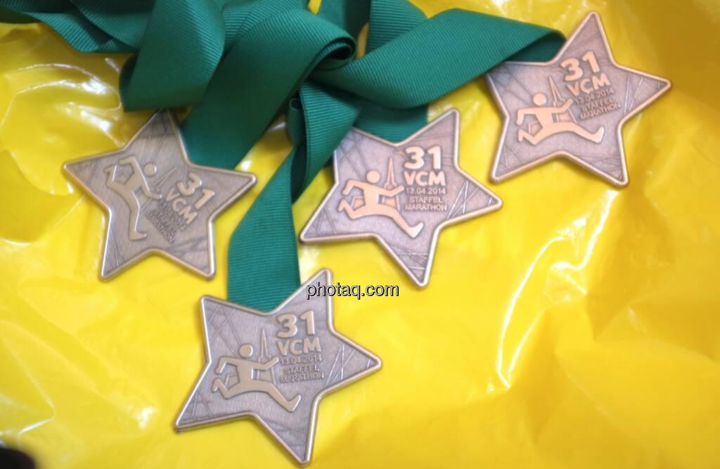 Vier Quartett Medaillen (13.04.2014)