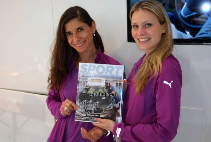 BMW Damen Sportmagazin