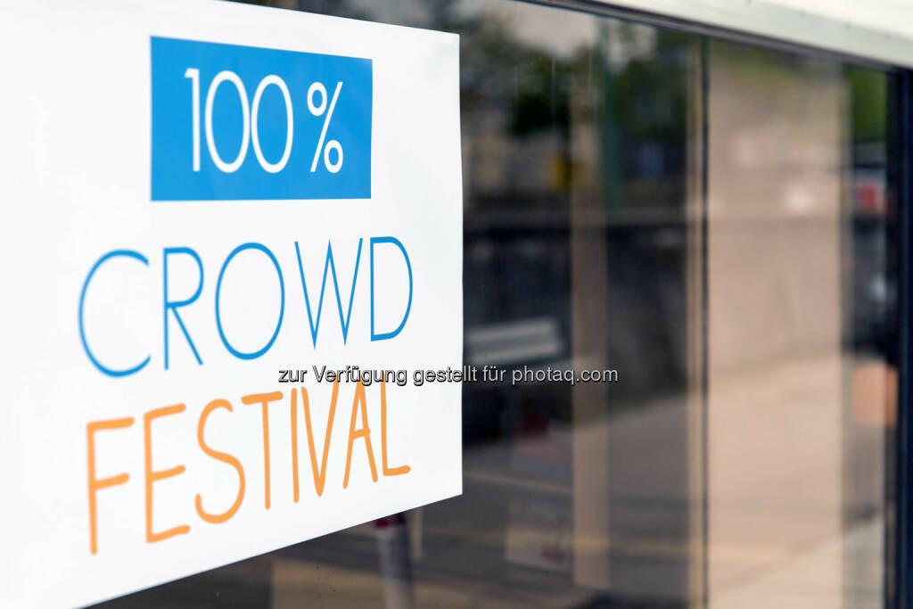 100% Crowd Festival, &copy; Texte und Bilder von <a href=