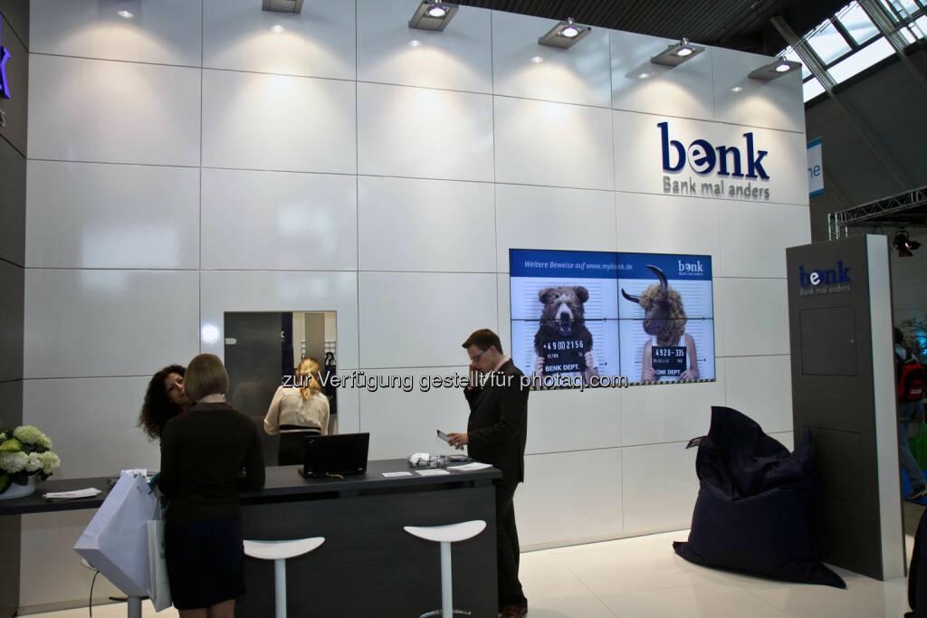 benk - Bank mal anders, © wikifolio (14.04.2014)