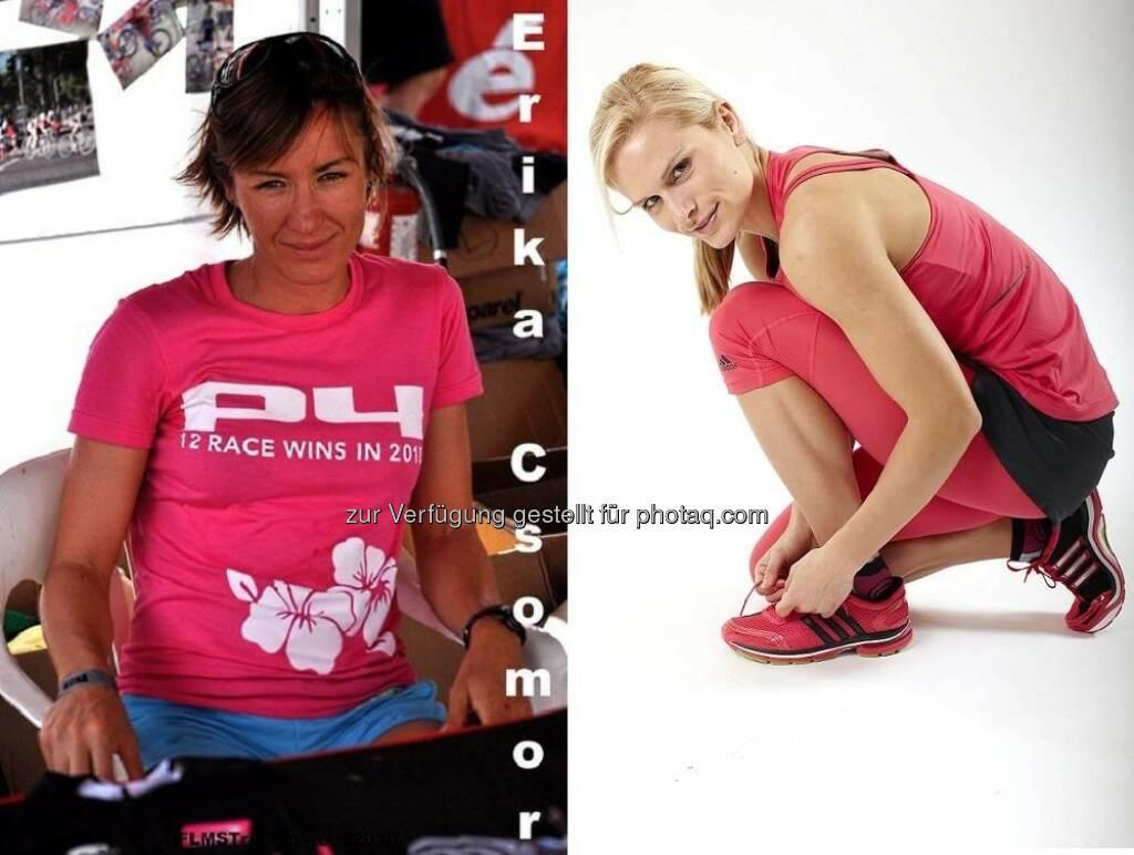 Tristylerinnen Erika Csomor und Elisabeth Niedereder , © www.tristyle.at (15.04.2014)