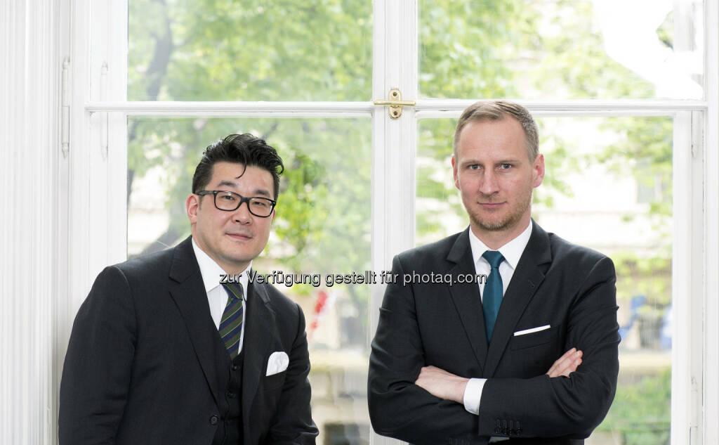 Stefan Choi und Florian Beckermann sind neue Geschäftsführer Re-Structure, einem Beratungsunternehmen im Immobilien-Workout-Bereich (Bild: Wolf Theiss) (16.04.2014)