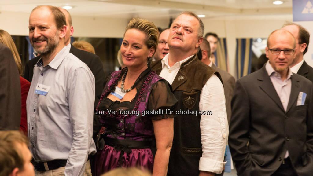 Von weit her kamen die Gäste - das Ehepaar Dürr war gar aus den Tiroler Bergen angereist., &copy; Texte und Bilder von <a href=