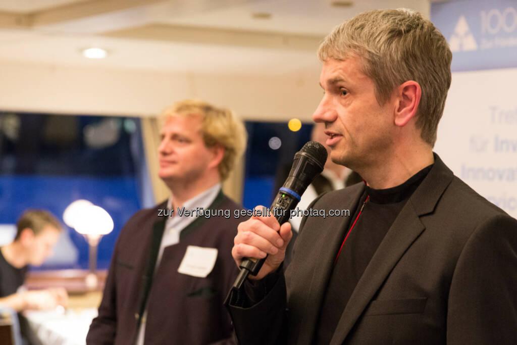 1000x1000.at Gründer Reinhard Willfort begrüßt alle Gäste sehr herzlich., &copy; Texte und Bilder von <a href=