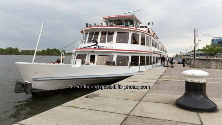 Die MS Admiral Tegetthoff, Schiff, Donau