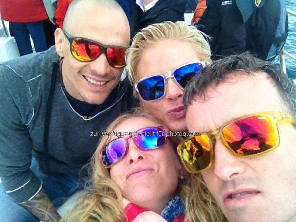 Tristyler-Selfie, vier, Brillen, © www.tristyle.at (18.04.2014)