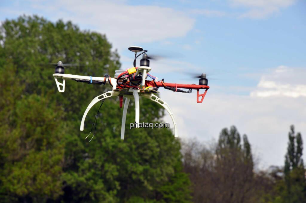 Drohne, DJI F450 QuadroCopter (20.04.2014)