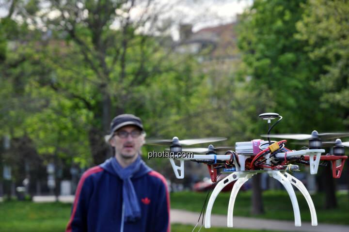 Drohne, DJI F450 QuadroCopter, Josef Chladek