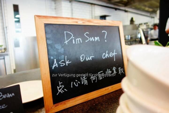 Dim Sum? China Tafel