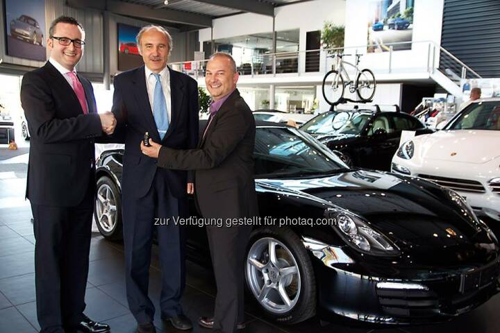 Die Börse Frankfurt Zertifikate AG gratuliert dem Sieger der dritten Trading Masters Staffel und wünscht Ihm viel Spass mit seinem fabrikneuen Porsche Boxster.  Source: http://twitter.com/zertifikateboersefra
